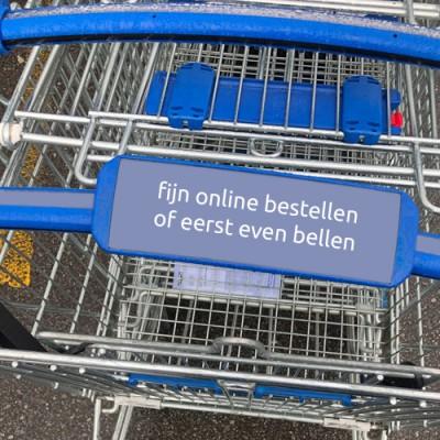Bestel online